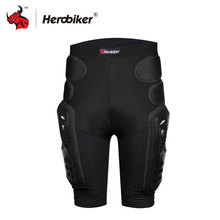 HEROBIKER Unisex Moto Sport Protective Gear Hip Pad Motorcross Off-Road Downhill Mountain Bike Skating Ski Hockey Armor Shorts
