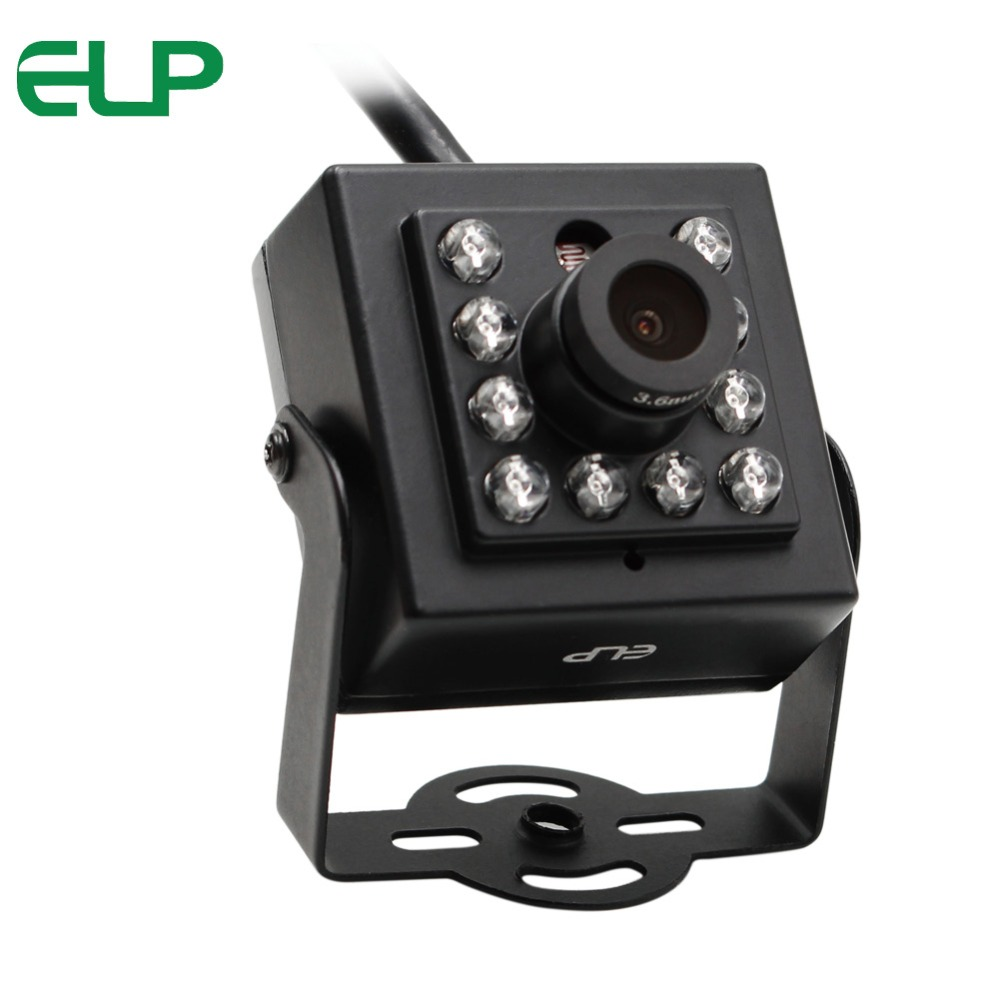 0.3MP mini ir night vision webcam  cctv  face detection usb camera with driver  and software<br>