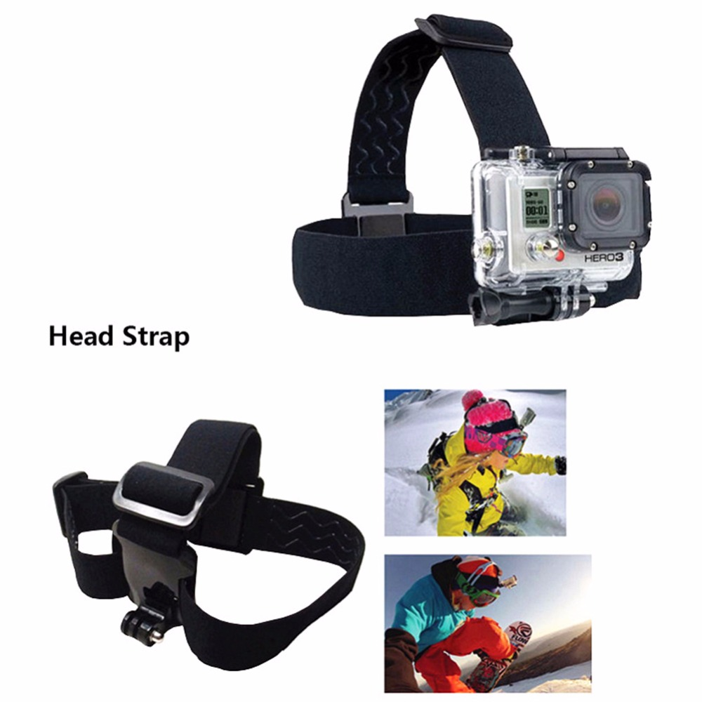 DSD TECH for GoPro 3 Way grip chesty chest harness accessories for go pro hero 6 5 4 3 2 session sjcam m20 xiaomi yi 2 4k 08C