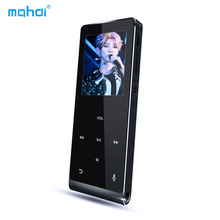 Mahdi Bluetooth HIFI MP4 Player 8G Touch Screen Multi-language Shatterproof Scratch Resistant Pedo Meter Recorder E-Book Video(China)