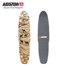 KOSTON Professional Longboard Decks Dancing Board Waliking Skateboard Decks Long Skateboard 44 Inch 8ply Canada Maple Pressed(China)