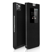 SIKAI 1:1 Original PU Leather Case For Blackberry KEYone Case Smart Magnetic Cover Flip Leather Case For Blackberry KEYone Case
