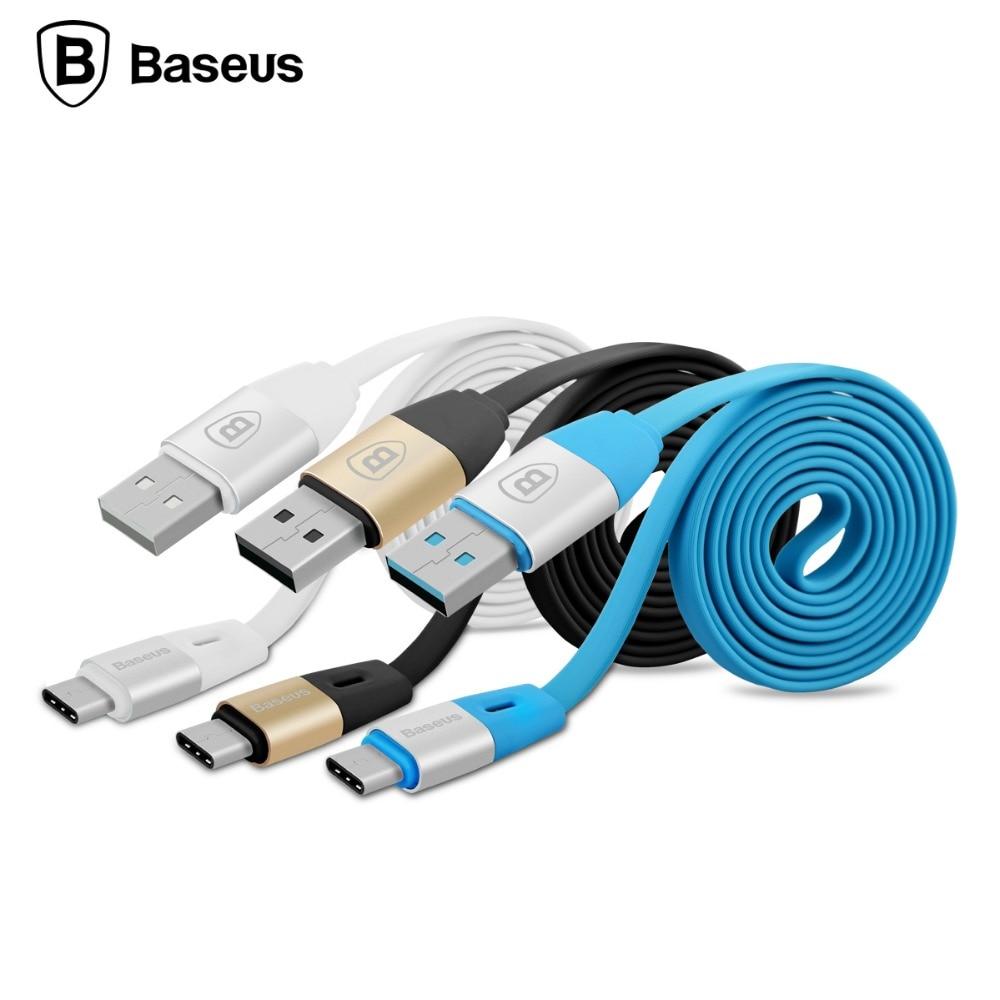 Original Baseus 1M USB 2 1A font b Type C b font Charge Mobile Phone font