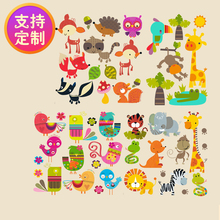 DIY handmade clothes patch cloth decoration decals cartoon animals whole heat transfer Offset transfer pattern patches