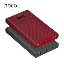 Original New HOCO 13000mAh Capacity Power Bank Ultrathin Portable External Battery Bateria Externa Backup Charger Powerbank - DCAE First Store store