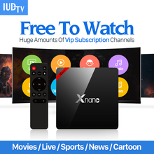 Buy Europe Arabic IPTV Box IUDTV Abonnement Iptv 1 Year 2000 Live Channels HD Movie French UK Android 6.0 TV Box Smart Media Player for $64.48 in AliExpress store