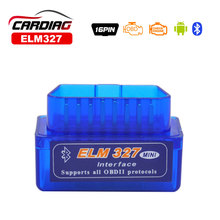 2017 Works on Android Torque super ELM327 v2.1 Mini ELM 327 Bluetooth OBDII OBD-II OBD2 Protocols Auto Diagnostic Tool Free Ship
