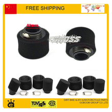 110cc 125cc motorcycle Black color 42mm faom air filter  free shipping dirt bike pit bike atv quad accessories