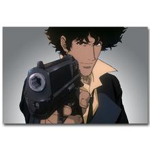 0429A Cowboy Bebop - Spike Jet Japanese Anime-Wall Sticker Silk Poster Light Canvas Decoration(China)