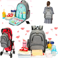Baby Diaper Bag Travel Backpack Waterproof Mummy Nappy Bag(China)