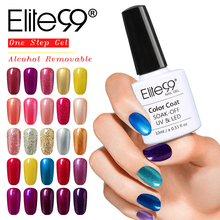 Elite99 All 100 Pcs Set DHL Free Shipping UV Nail Polish Cheap Low Price Alcoholic Removal One Step Gel Polish Easy to Apply(China)