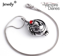 Jewdy Vintage movie film jewelty the Vampire Diaries Elena Gilbert Necklace Verbena Necklace for women men statement fashion