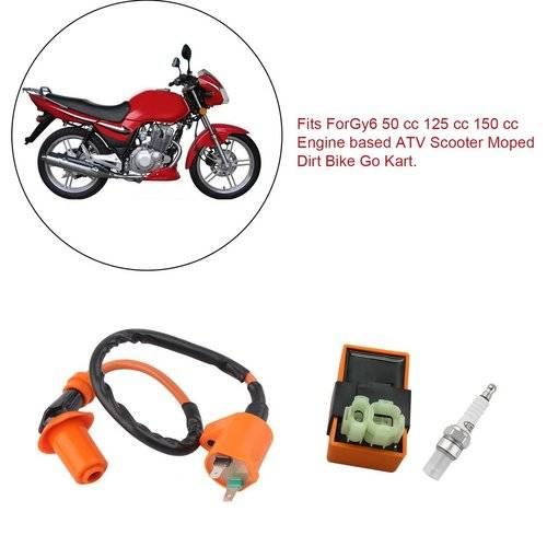 Spark Plug Cap Fit For 50 125 150CC ATV Dirt Bike Motorcycle GY6 Moped Scooter