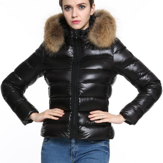 Ukraine Womens Basic coats Black Winter Jacket Parkas Large Fur Hooded Thermal Loose Short Down Coat Park Overcoat Outwear 3XLОдежда и ак�е��уары<br><br><br>Aliexpress