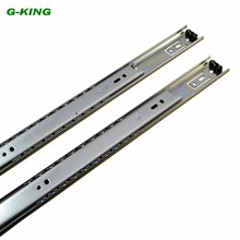 The two section ball bearing drawer slide guide rail track width steel furniture 35mm mechanical cabinet Guide