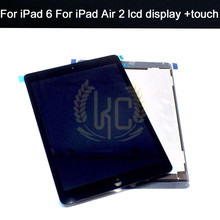 LCD for Apple for Ipad air 2 lcd ipad 6 A1567 A1566 Lcd with Touch Screen Digitizer Panel LCD Display Digitizer Assembly