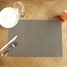 33x45cm Simple Design Table Mat Creative Kitchen Accessories Tableware Mats Heat Insulation Dining Table Mat 4 Pack(China)