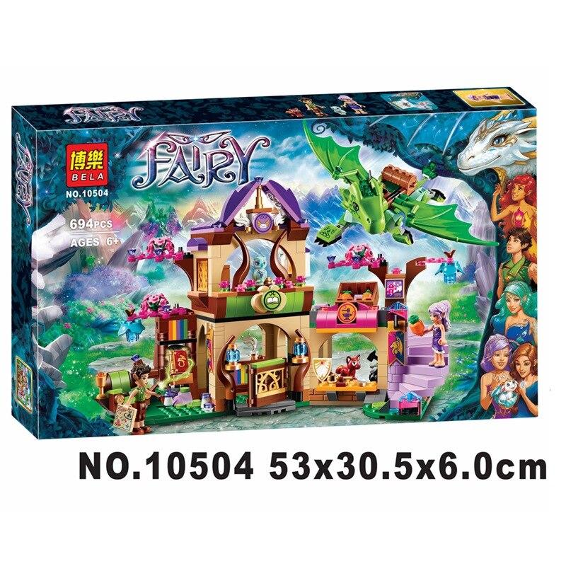 Bela 10504 Elfos Lugar Secreto de crianza actividad de educacion bloques de construccion modelo compatible 41176 juguetes para<br>