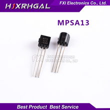 100PCS MPSA13 A13 TO-92 TO92 New original free shipping(China)