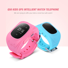 Zeepin Q50 Russian/English Version Kids Safe Smart Baby Watch Phone GPS Tracker Anti-lost SOS Clock Wristband for Android iOS