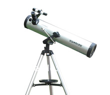 Visionking High Quality Astronomy Telescope 3 Inch 76-700mm Newtonian Reflector Astronomical Telescope For Space Observation(China)