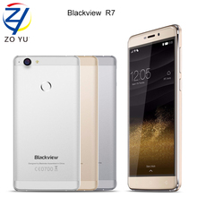 Blackview R7 4G LTE Fingerprint ID Smartphone MTK6755 Octa-core 4GB+32GB Mobile Phone 5.5 inch FHD Android 6.0 13.0MP cell phone