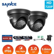Buy SANNCE 2PCS 1200TVL 720P TVI CCTV Cameras Indoor Outdoor IR night vision 1.0MP CCTV Surveillance Security Camera for $49.81 in AliExpress store