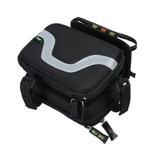 Foldable Bicycle Saddle Phone Bag With Water Bottle Cycling MTB Bike Bicycle Front Frame Bag Pouch For Mobile Phone 5.5 inch
