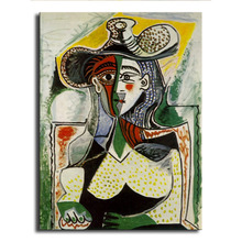 oil Painting Picasso  Hd printcanvas painting Photo print painting PrintsWallPicturesforliving Room Picture GM-032