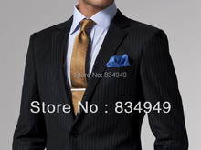 Black White Pinstripe Suit Custom Made Wedding Suits For Men ,Tailor Made White Pinstripe Tuxedos For Men White Pinstripe Tuxedo