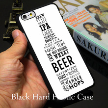 Beer Bottle Number Black Phone Case for iPhone 5S 5 SE 5C 4 4S 6 6S 7 Plus Cover ( Soft TPU / Hard Plastic for Choice )