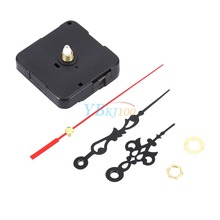 Classic Hanging Black Quartz Watch Wall Clock Movement Mechanism Parts Repair Replacement Essential Tools