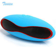 Tensen Mini Rugby Boombox Wireless Bluetooth Speaker Portable Stereo FM/TF Card Som Soundbar Handsfree For iPhone Samsung Xiaomi