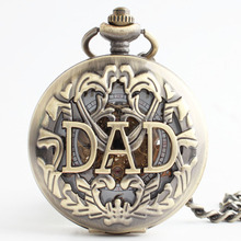 Steampunk Engraving Hand Wind Mechanical Pocket FOB Watches Men Women Gift Pendant Watches Chain Free Shipping Sun Flower Hollow