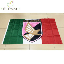 Italy U.S. Citta di Palermo 3ft*5ft (90*150cm) Size Christmas Decorations for Home Flag Banner Type B Gifts(China)
