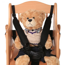 Universal Baby Stroller Seat Belt 5 Point Harness Safety Strap Chair Pram Buggy Children Kid 360 Rotating Hook for Pushchair(China)