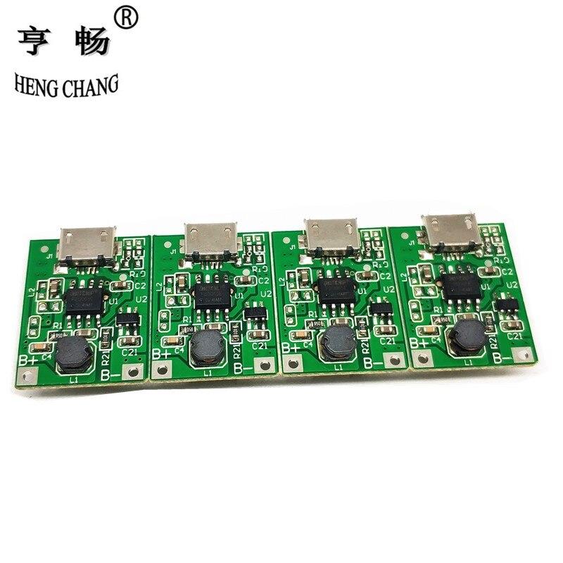 BMS 1S 0,7A 3,6V zu 5V Step-Up Powerbank Module 18650 Lithium 134N3P Charger USB
