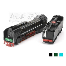 High Simulation Exquisite Model Toys: European Retro Steam Train Locomotive Model 1:87 Alloy Trains Model Excellent Gifts