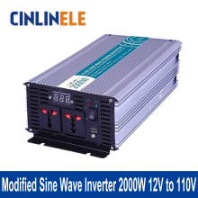 Shine Series Modified Sine Wave Inverter 2000W CLM2000A-121 DC 12V to AC 110V 2000W Surge Power 4000W Power Inverter 12V 110V