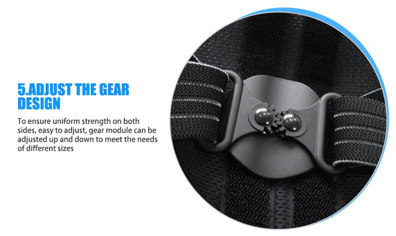 OPER adjustable Shoulder back belt posture corrector back support brace Posture belt Back Brace rectify health care   (5)
