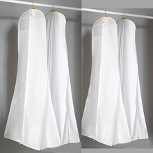New Length 170 Cheap Wedding Dress Bags Clothes Cover Dust Cover Garment Bags Bridal Gown Bag For Mermaid Wedding Dress Cover