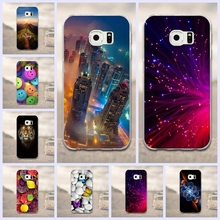 Case For Samsung Galaxy S6 Edge Case Phone Back Cover For Samsung S6 Edge G9250 Cell Phone Back Cover Case 3D Painted Silicone