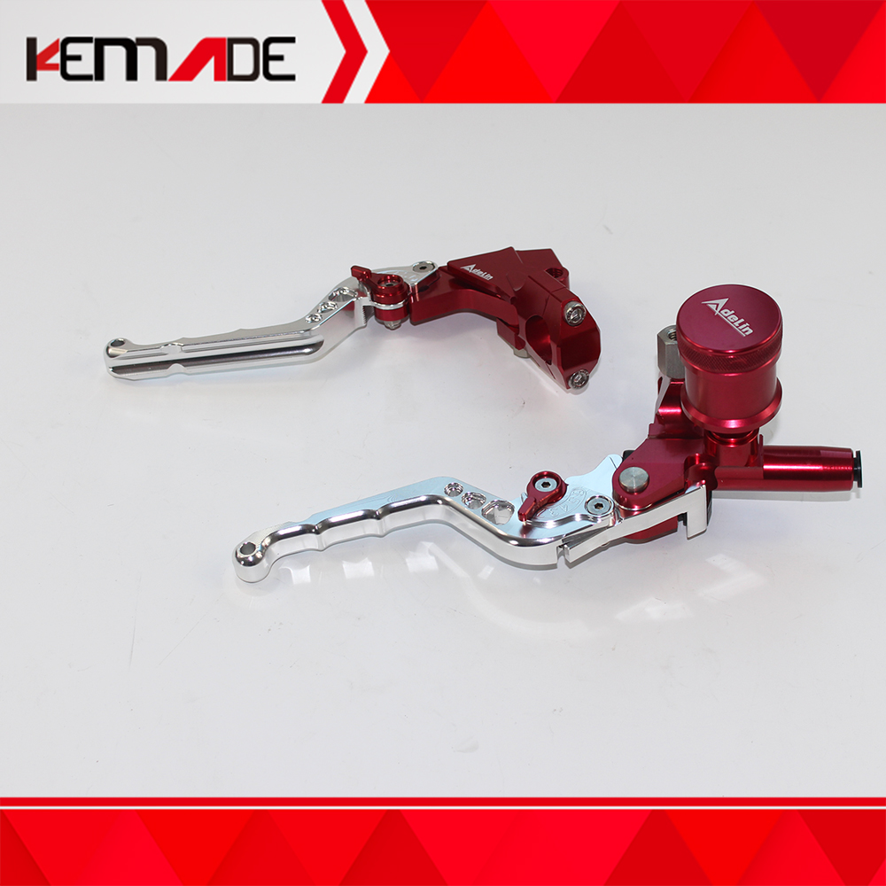 "CNC Brake Clutch Levers Master Cylinder For Ruckus Zoomer 7//8/"" Adelin PX-2 silve"