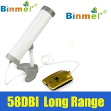 Original Binmer New Long Range High Power ( 5800MW ) 58DBI Clipper Wireless Wifi Adapter Antenna High Sensitivity July 19