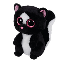 FLORA Skunks ORIGINAL 2016 NEW Ty  BEANIE BOOS PLUSH TOY BLACK SKUNKS STUFFED ANIMAL FOR KIDS GIFT SOFT  6 INCH 15CM HOT SALE