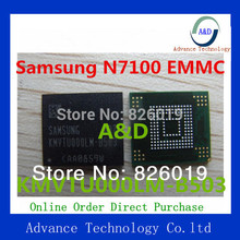 Programmed Free shipping best price for N7100 KMVTU000LM-B503 flash memory IC KMV3W000LM-B310 EMMC with firmware