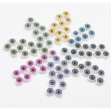 10pcs 11*16mm Mix color Half Oval Acrylic Plastic Doll Eyes For BJD Dolls Toy Making es015