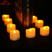 Mini LED Tealight Candle LED Christmas Candles for Wedding Gift Votive Holder Electric Warmer Halloween(China)