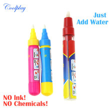 Coolplay 1pcs Magic Water Drawing Pen/ American doodle pen /Magic water painting pen/water drawing replacement(China)