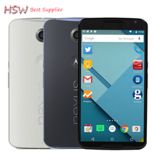 "Original Unlocked Motorola Nexus 6 XT1103 XT1100 Mobile Phone 5.96 ""Touch Screen 3GB RAM 32GB ROM 4G GPS WIFI Nexus 6 cell phone"
